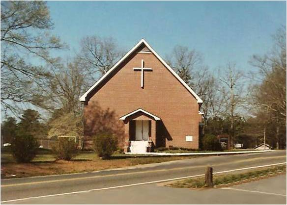 A picture of the original Bascomb UMC building .... now the chapel.