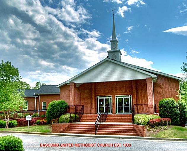 The is an artist's rendering of how the new sanctuary at Bascomb looked.